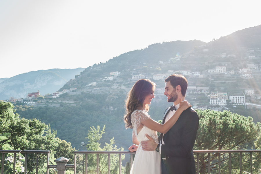 Ravello Wedding Photo